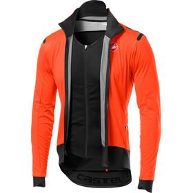 Castelli Alpha Ros Light Jas Heren, orange/black
